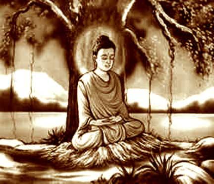 Buddha at Bodhi Tree